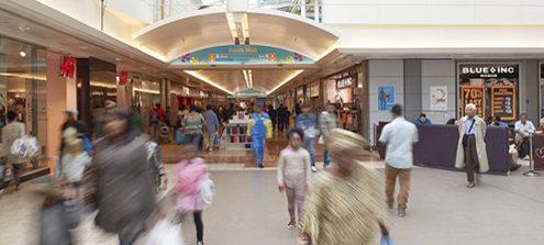 radio earpiece in retail
