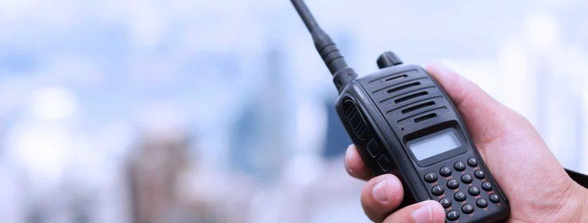 walkie talkie hire in london